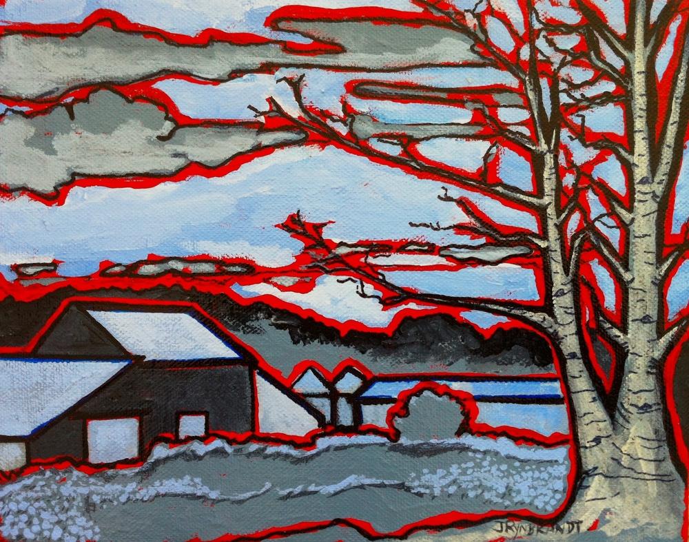 """""""Frank's Farm #3"""" 2013 8x10 Barnwood Frame SALE"""