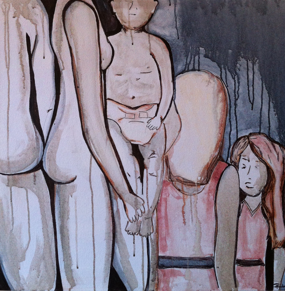 """Family Portrait"" 2012 36x36"