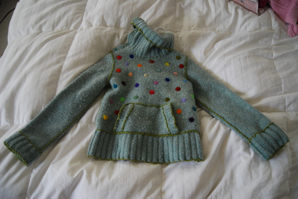 Sweater for Brielle. Sold.