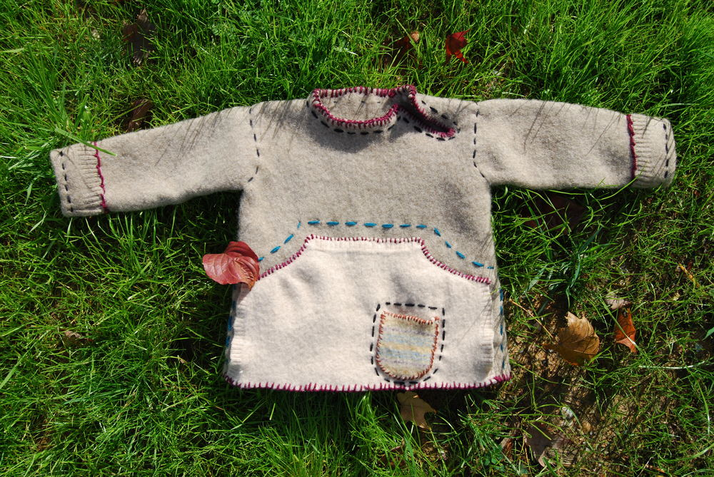 Sweater for Enzo. Sold.