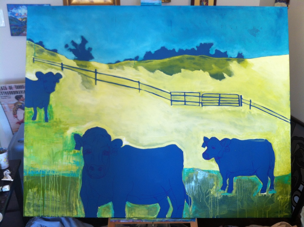 day 3 cows and hills