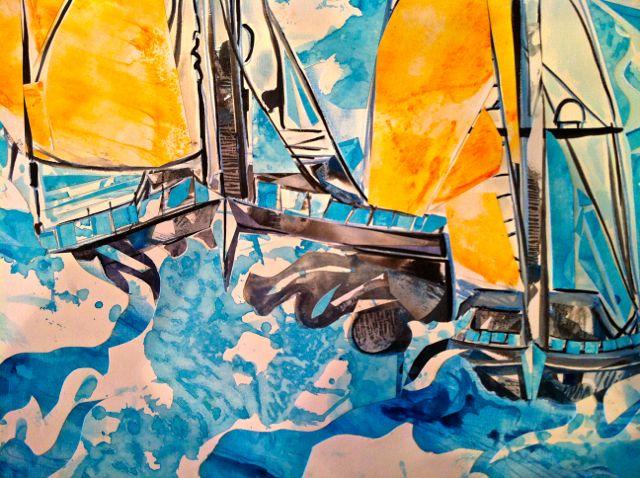 Regatta Blue/Orange
