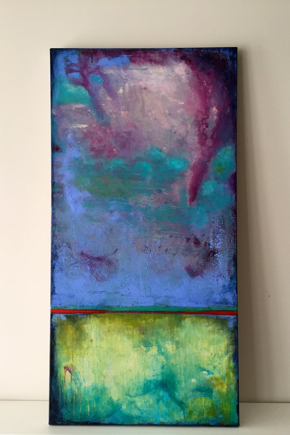 """On My Easel: """"Runoff"""""""