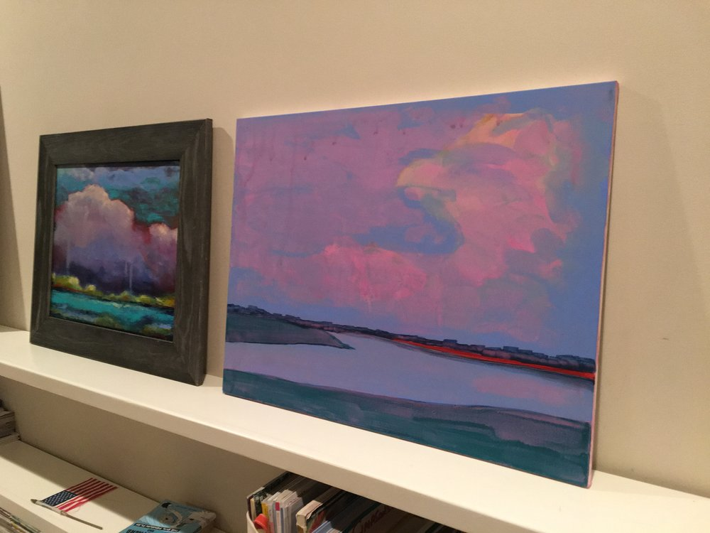 On My Easel: A New Painting Based on Kiawah Island Photo May 2016