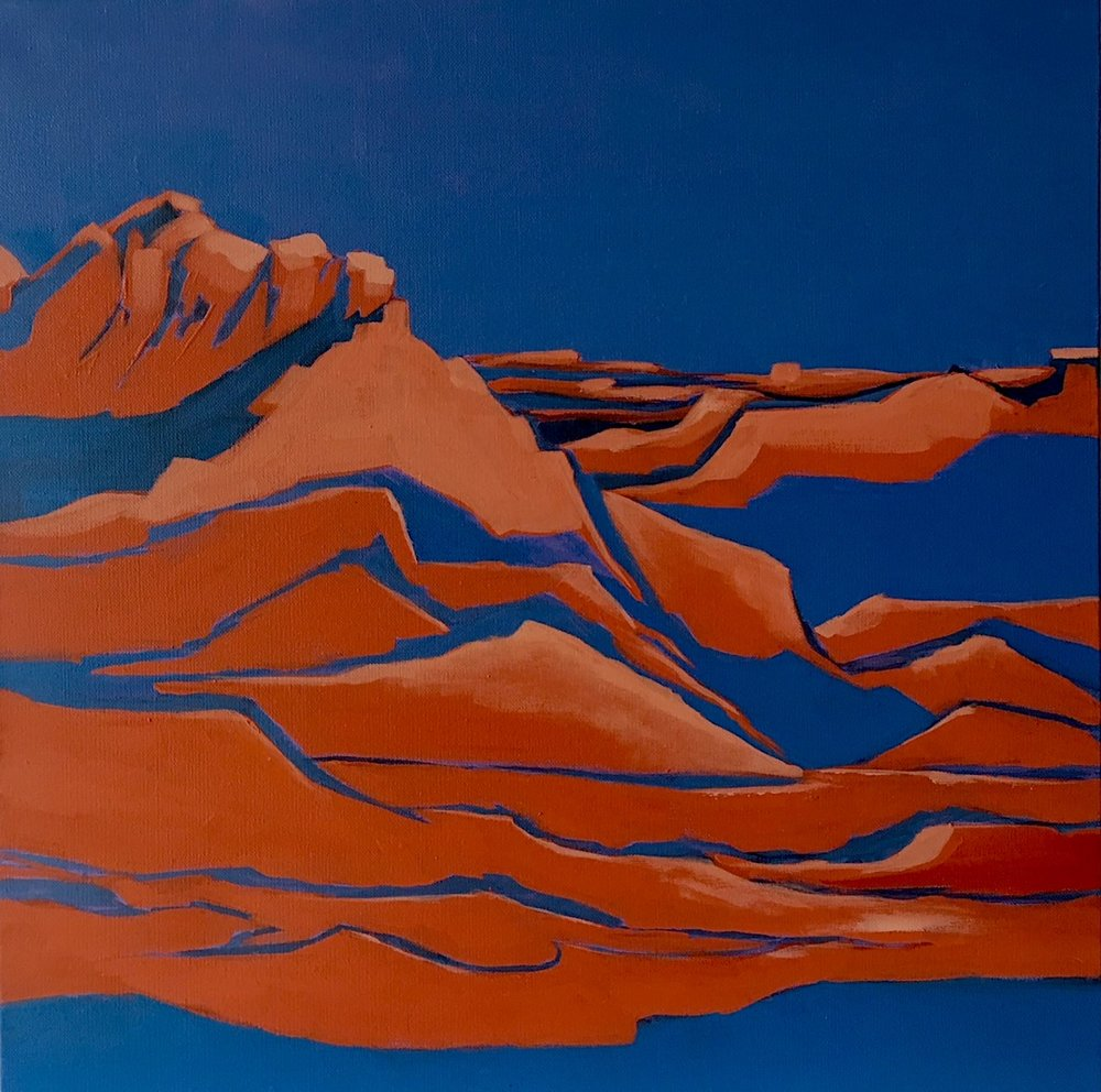"On My Easel, ""Hurricane, Utah"""
