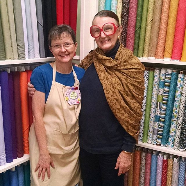 #tbt to when Dianne S. Hire came to the shop! #quilting