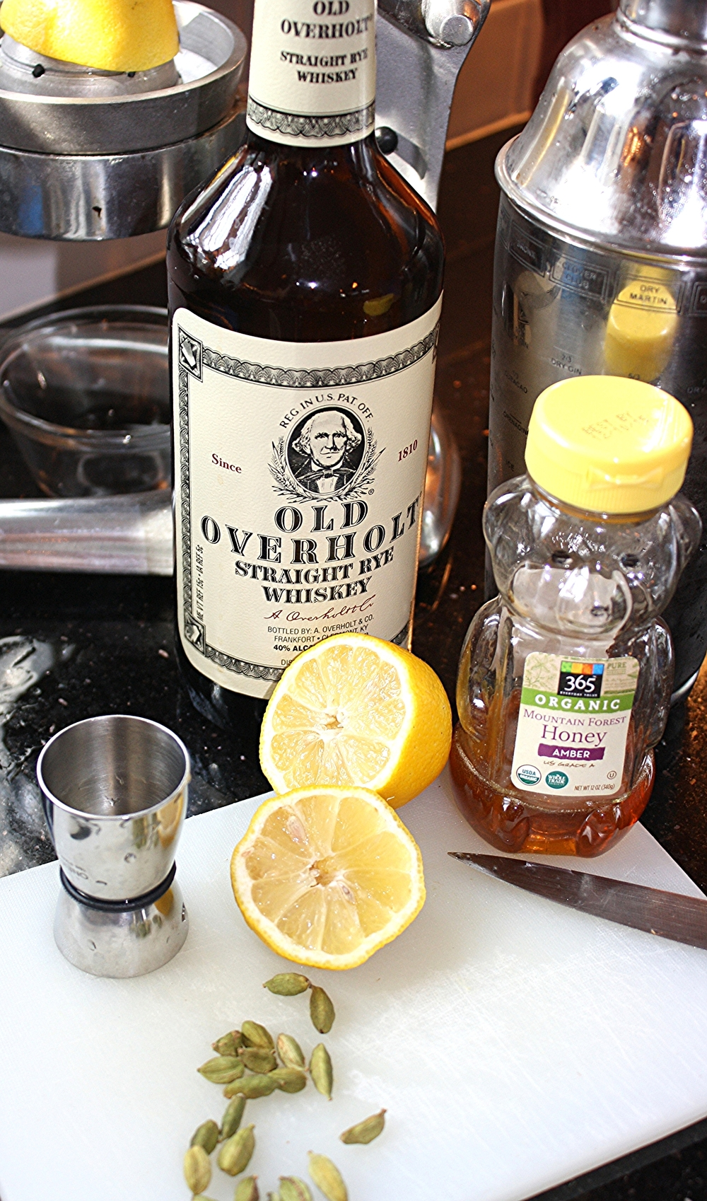 Old Overholt is an American Straight Rye Whiskey distilled by A. Overholt & Co established in 1810.