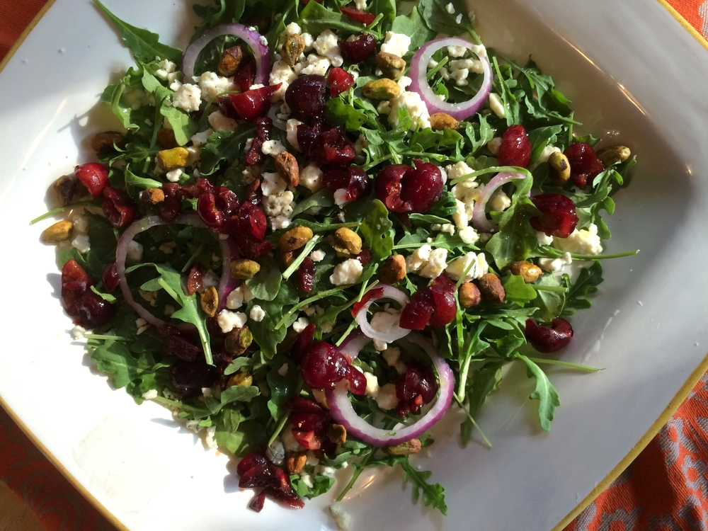 cherry gorganzola salad.JPG
