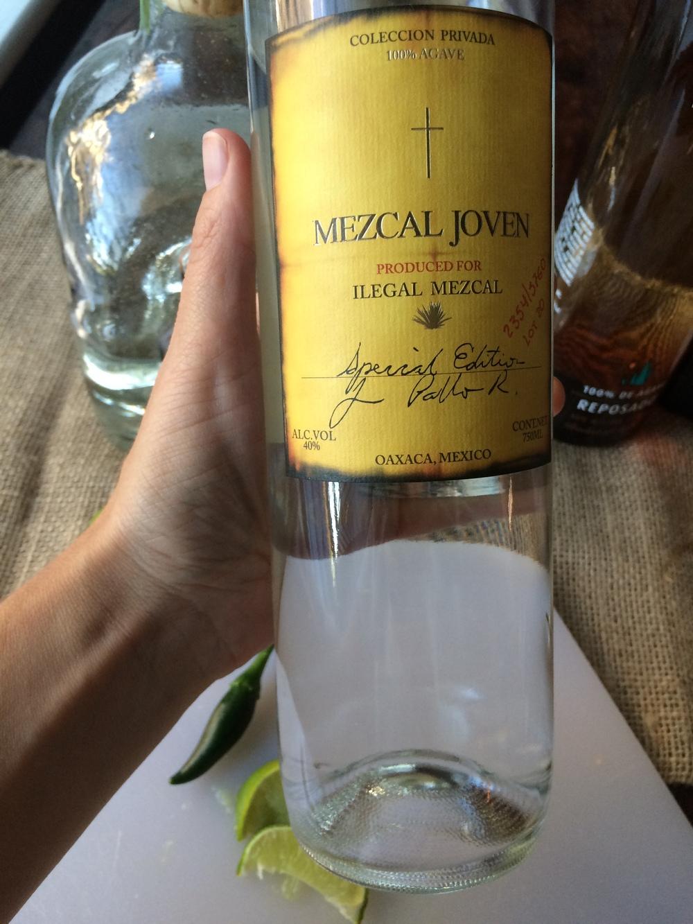mezcal rita bottle.JPG