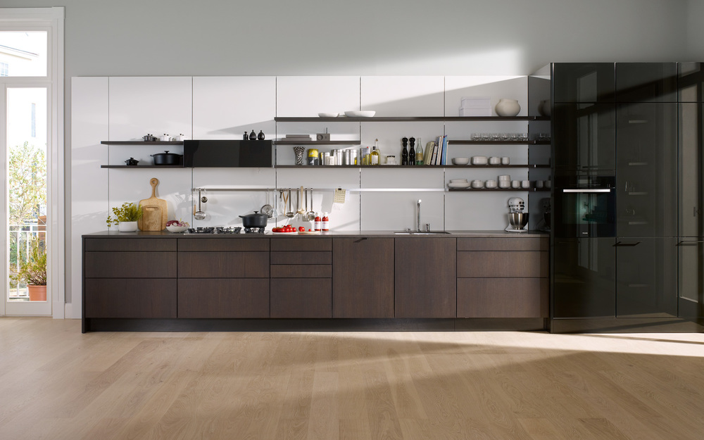 SieMatic SE 4004 The Natural Beauty Of Fine Woods Euro Kitchen