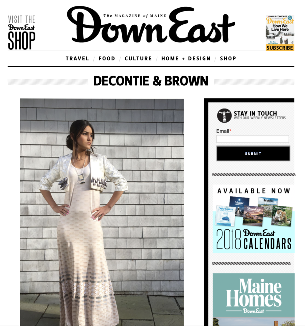 good things from maine - Decontie & Brown is honored to be a feature story in the March 2018 issue of Downeast >