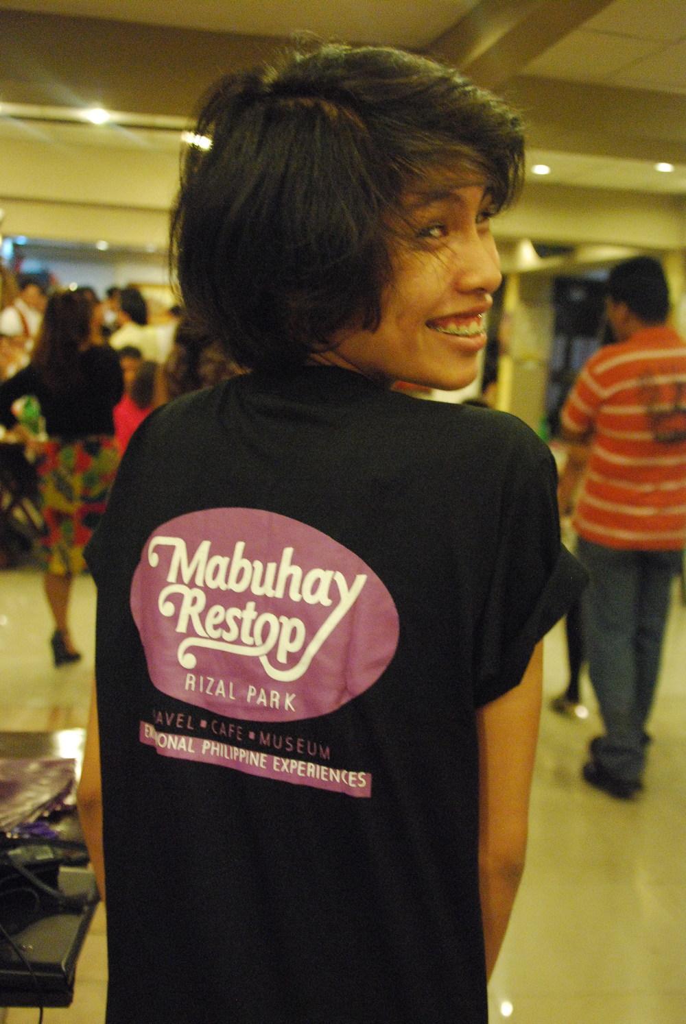 Mabuhay Restop Intern Anne Pagkalinawan