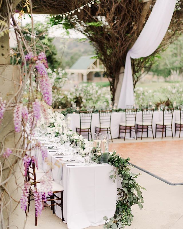 This beautiful reception space was completely transformed into an elegant, intimate affair🌿 What you don't hear was one of the best live bands playing in the background, making Soozie & Aaron's wedding such spectacular evening💕 ⠀⠀⠀⠀⠀⠀⠀⠀⠀ Floral Design: @threepetalsdesign  Planning: @rocknevents  Band: @romprodrockstars ⠀⠀⠀⠀⠀⠀⠀⠀⠀ #villamontalvo #bernarduslodge #bernarduswinery #hammerskyvineyards  #victorylodge #mitchellsmeadows #beaulieugarden #cielofarms #cielofarmsmalibu  #sanysidroranch #sanysidroranchwedding #maliburockyoakswedding #holmanranch #santaynezweddingphotographer  #firestonewinery #palmspringsweddingphotographer #losangelesweddingphotographer  #calaviewedding  #ojaiweddingphotographer  #santabarbaraweddingphotographer  #orangecountyweddingphotographer #marthastewartweddings #belmondelencanto #fssantabarbara #kestrelpark #belairbayclub #parkerpalmsprings #parkerpalmspringswedding #pelicanhillwedding #roblarwinery