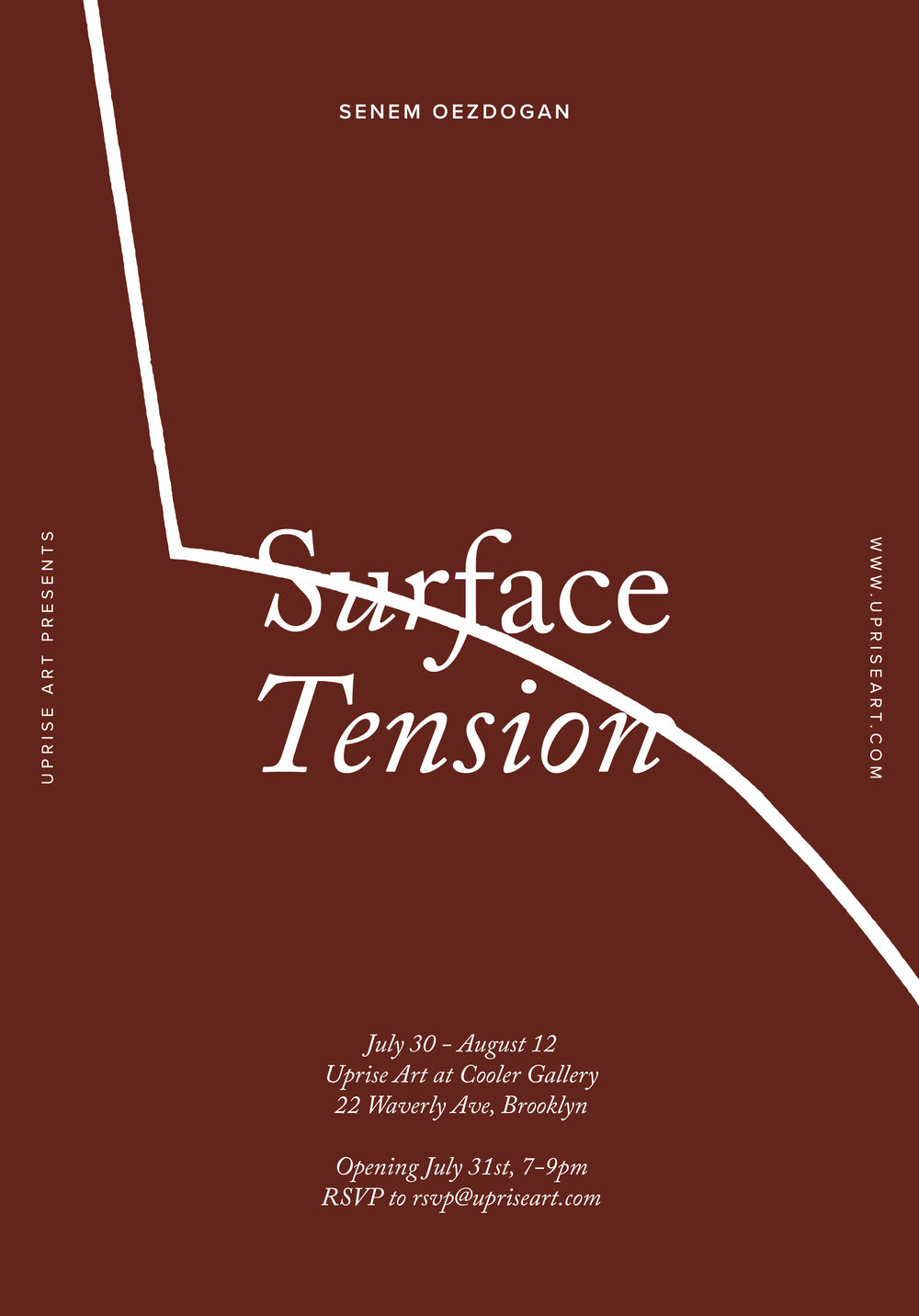 Invite to Surface Tension at Cooler Gallery.jpg