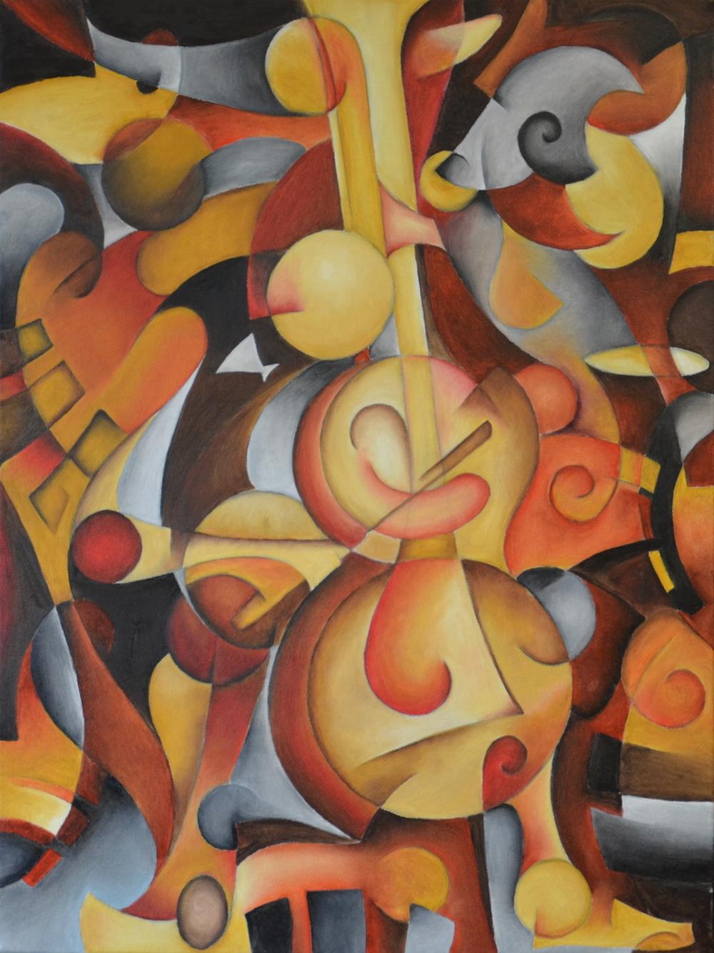 Ze Cello Player