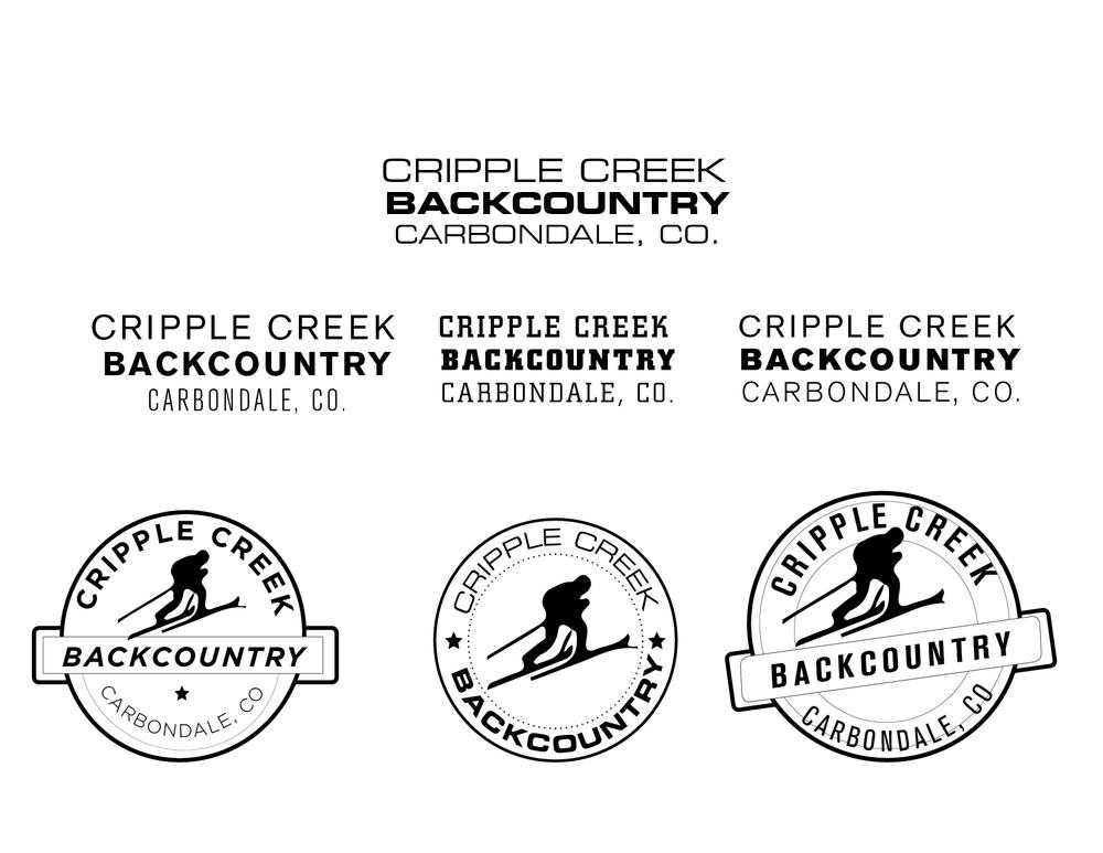 Fifth round logo development.