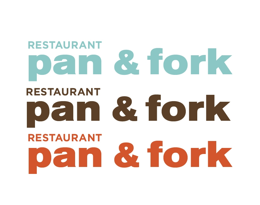 Pan and Fork logo design