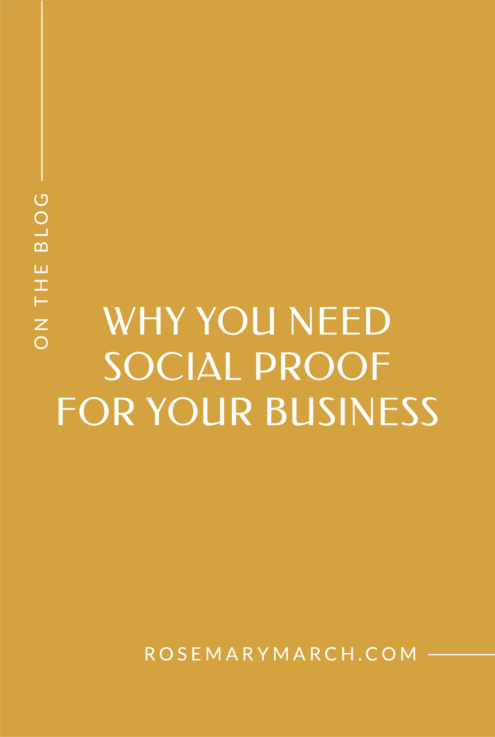 Why You Need Social Proof For Your Business - Rosemary March Creative Studio