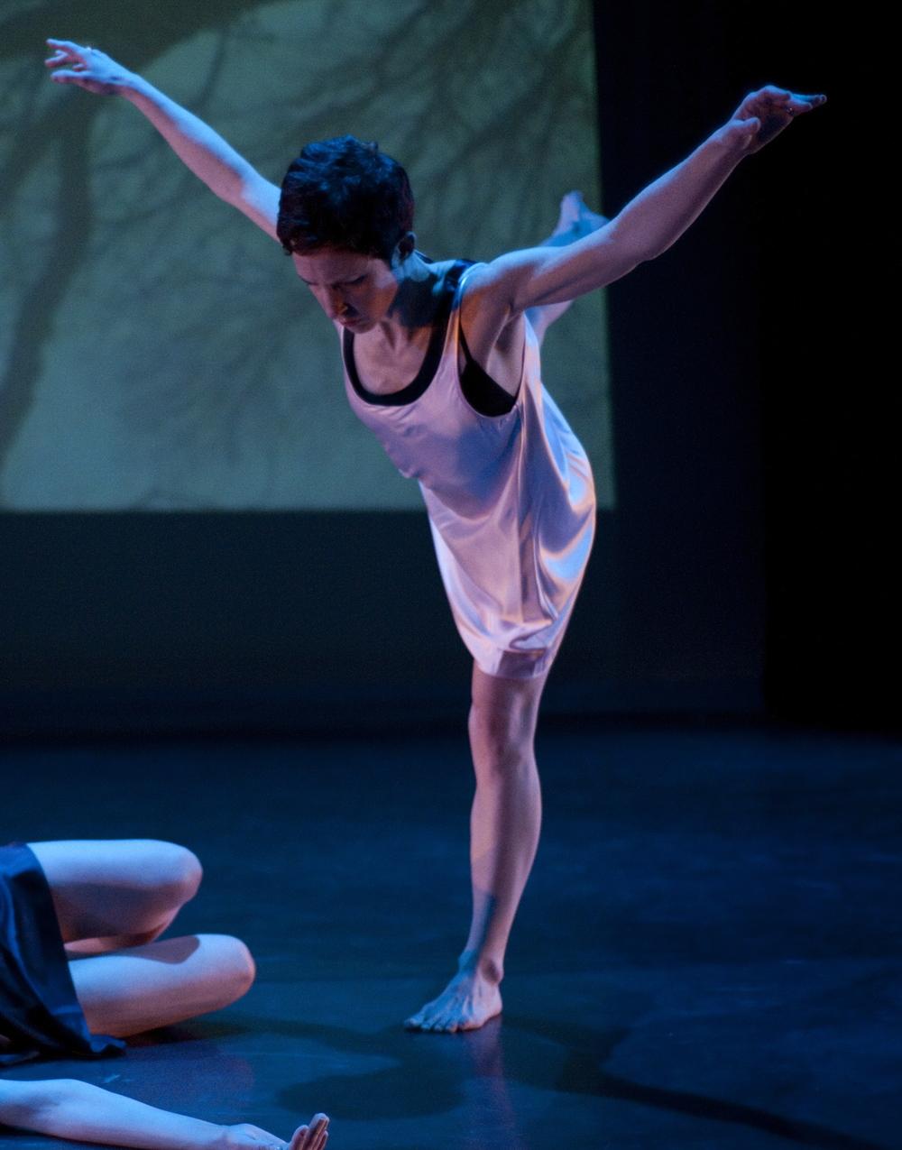 Dancer: Alexis Harris. Photograph by Carolyn Kennedy.