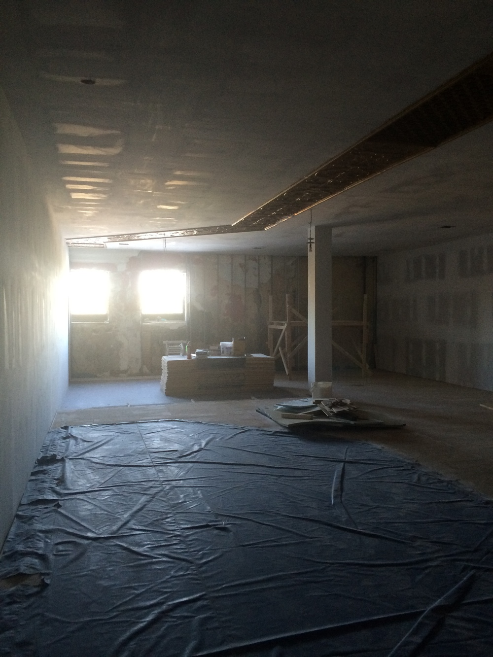 One of the studio spaces, measuring in at a massive 1500 square feet.