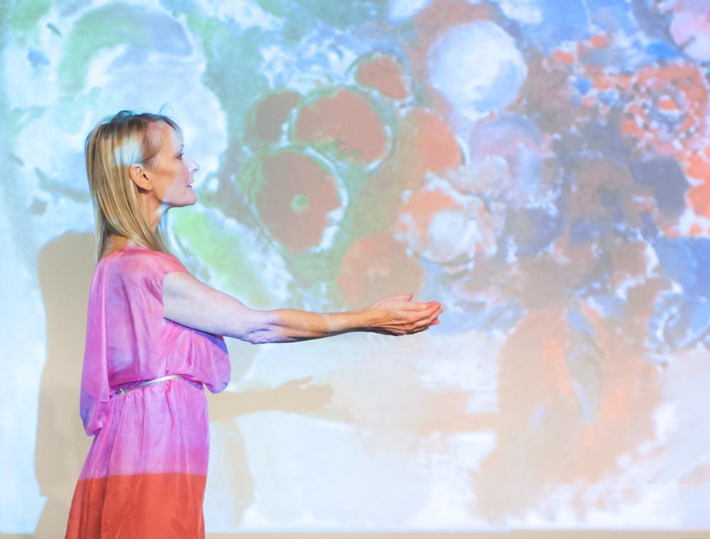 Cynthia Word, of Word Dance Theatre. Photo by Theo Kossenas.
