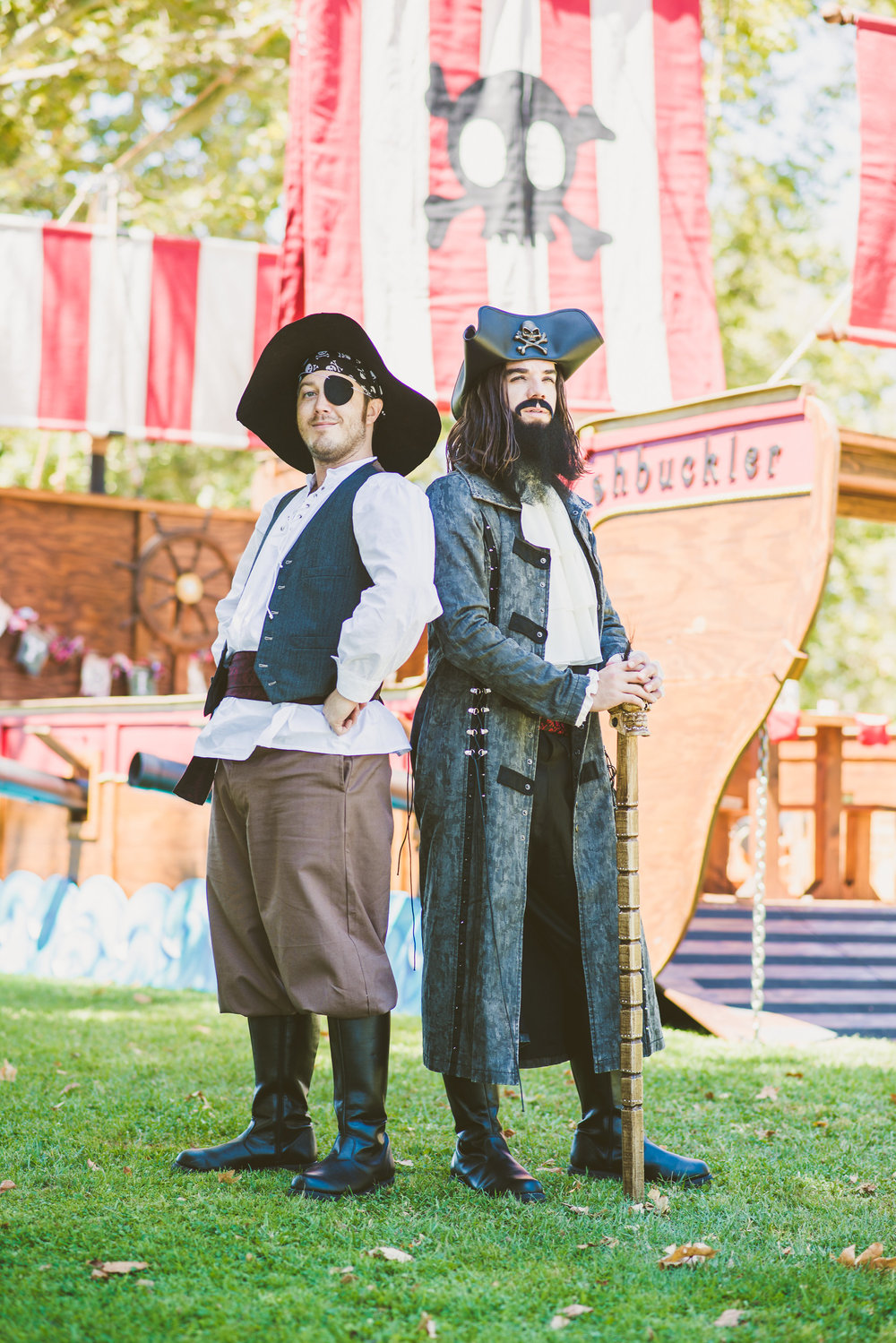 Blackbeard and his first mate - smitty - PHoto by Natasha Sadikin