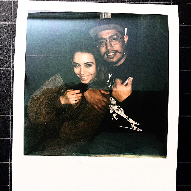 @radah & i • exchange rate @ east room • @bbreaux on the polaroid