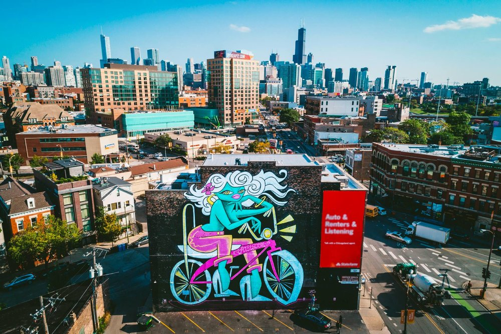 WICKER PARK. CHICAGO  2017