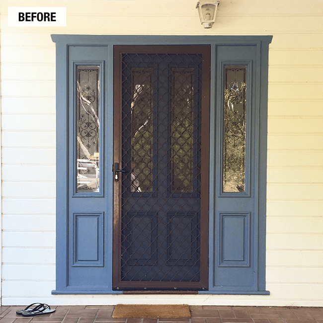 And What Better Place To Start The Reno Than With The Front Door?