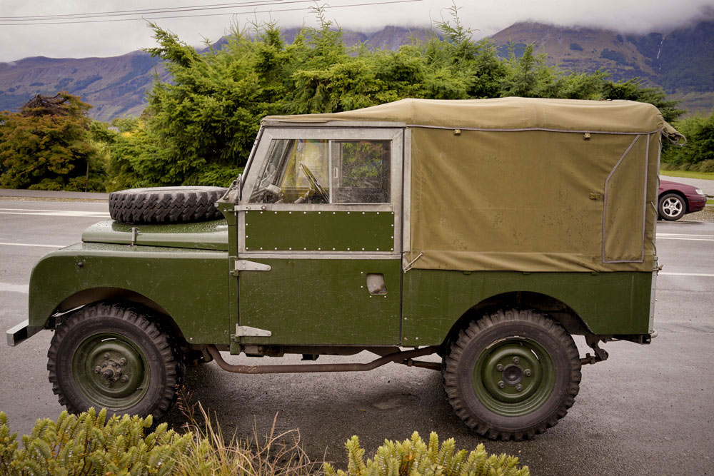 Thanks to L.A. based cinematographer & self confessed Land Rover nerd Cameron Duncan for the images of our old Landy.
