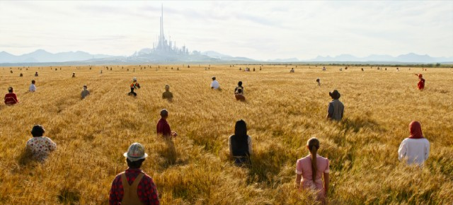 "The end scene from the movie ""Tomorrowland"", 2015. The new world is calling for talented creative individuals who work for the collective benefit of humanity."