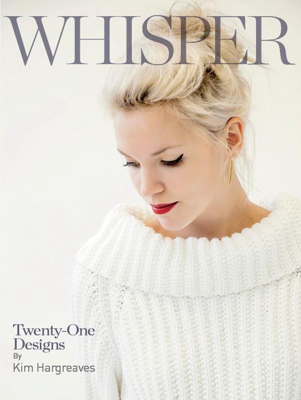 Kim Hargreaves Whisper Knitting Collection: $35.00