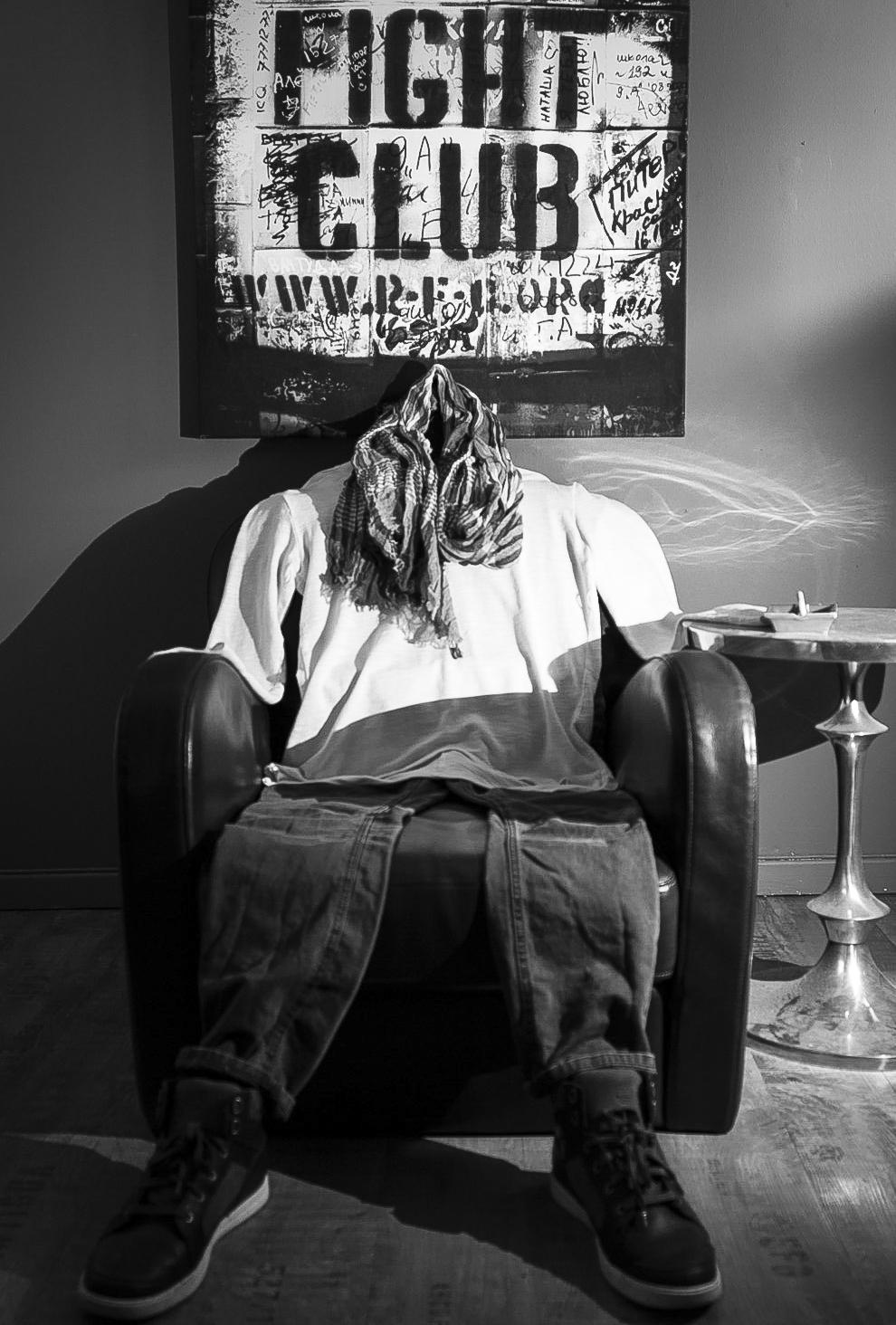 Self-portrait at home. Paris, FRANCE. 2013.