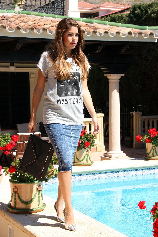 Gabriela Merino sport chic look