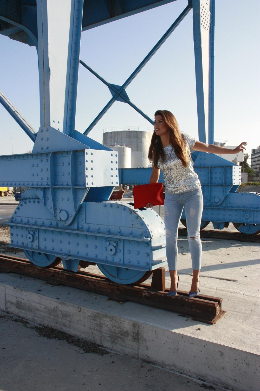 Fotos realizadas en el puerto de Málaga.