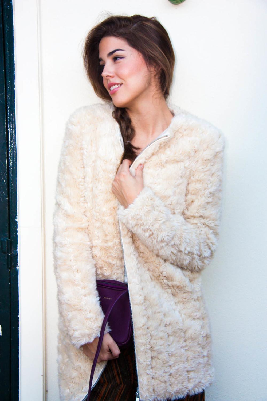 Coat/abrigo: Zara old