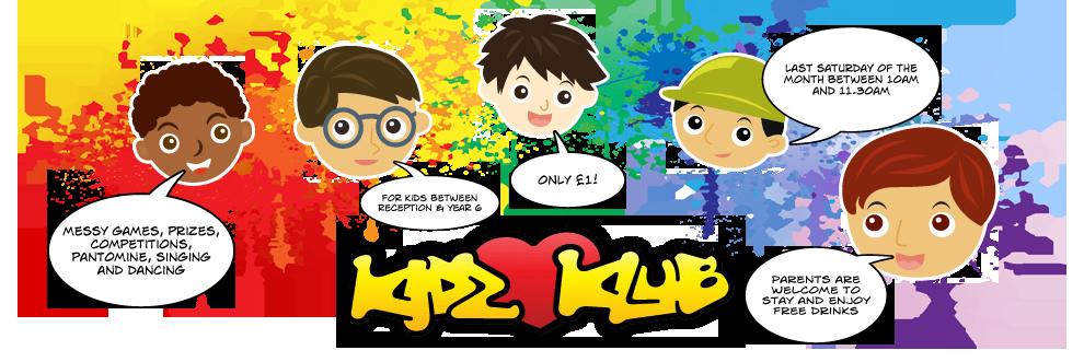 Kidz Klub Banner
