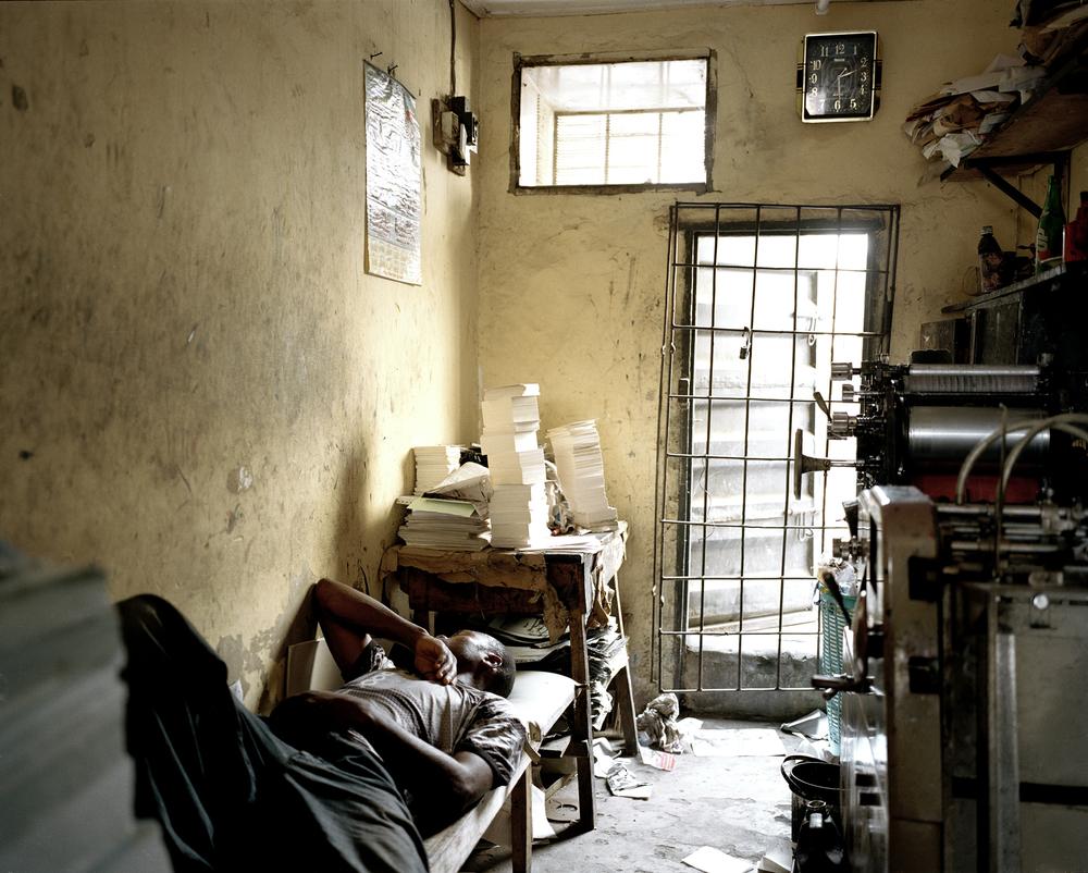 Untitled (Man Sleeping)