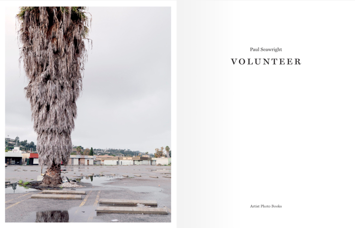 Volunteer - Artist Photo Books Hardback 64pp