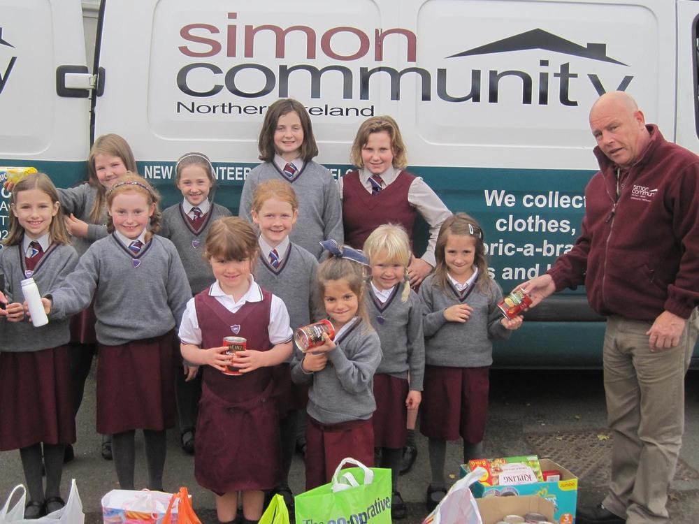 Fundraising for Simon Community