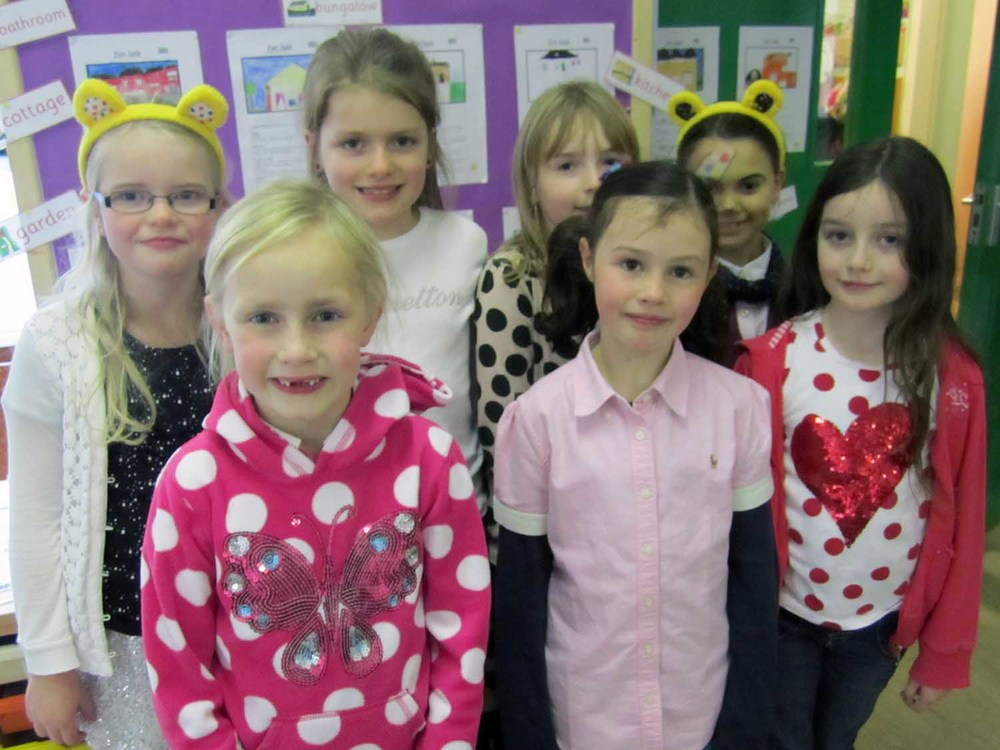 We organised a Children in Need event