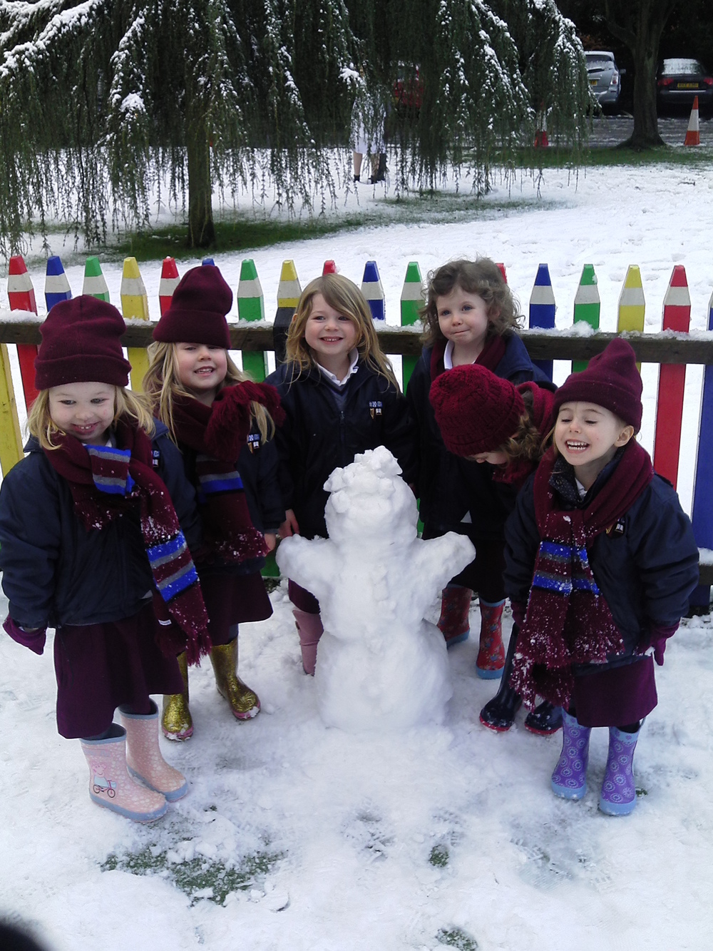 We made our very own Olaf!