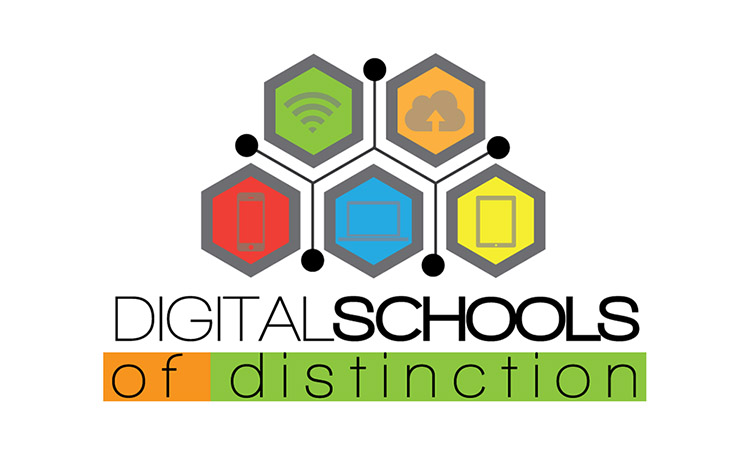 Digital school of distinction award logo