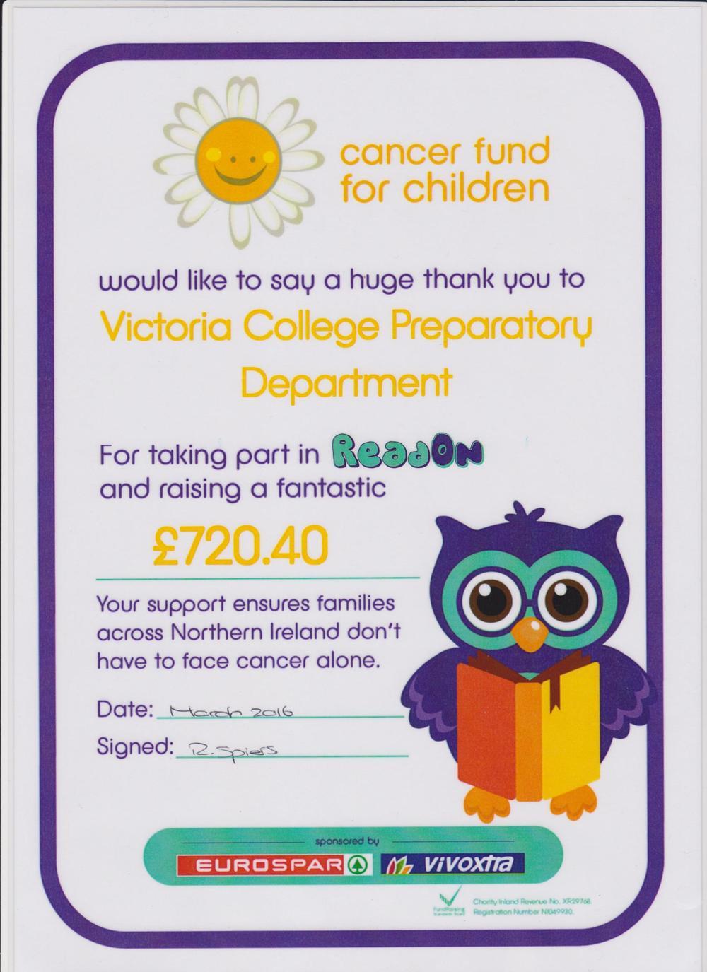 Cancer Fund for Children Read On cert.jpg