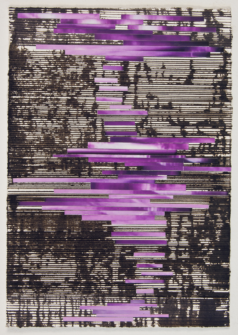 "untitled, 2010,  ink and archival inkjet collage,   5 1/2"" x 7 7/8"""