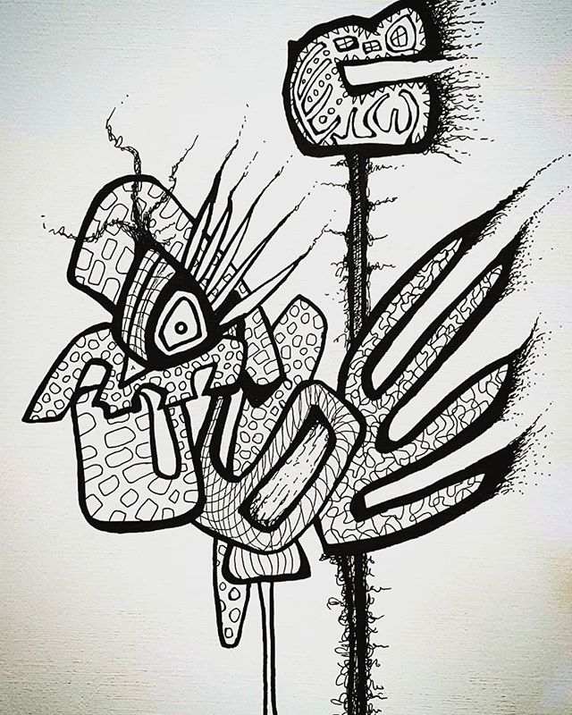 Abstracting today. #abstractart #abstractandinteresting #abstract #blackandwhite #art #weirdart