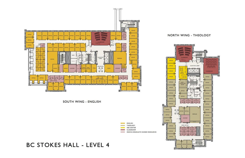boston college • stokes hall — David M. Owens, AIA