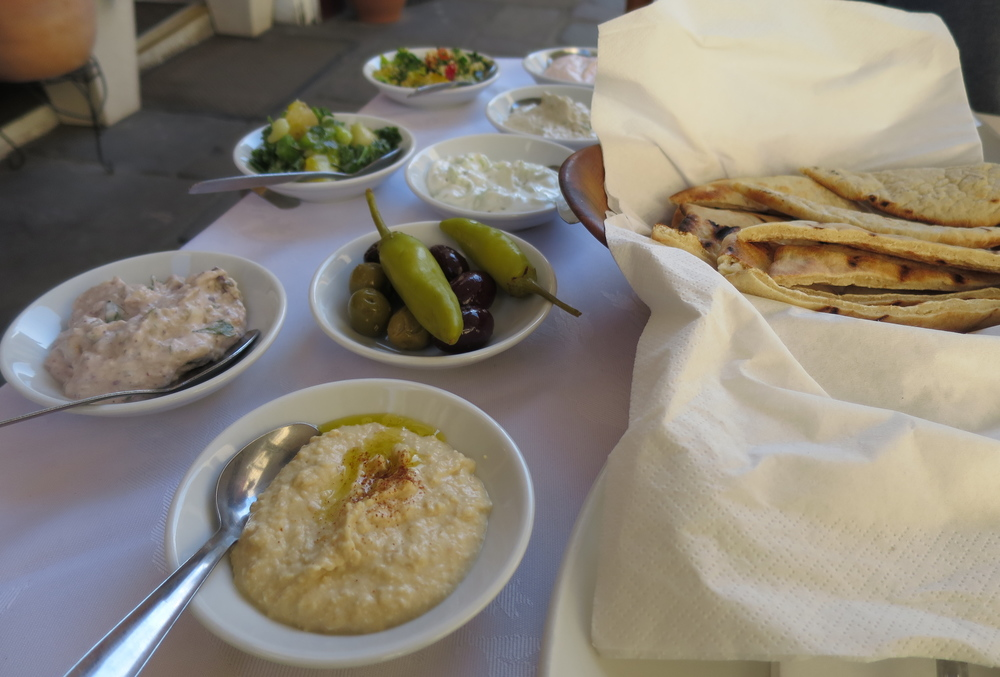 Delicious Meze - Working Lunch!