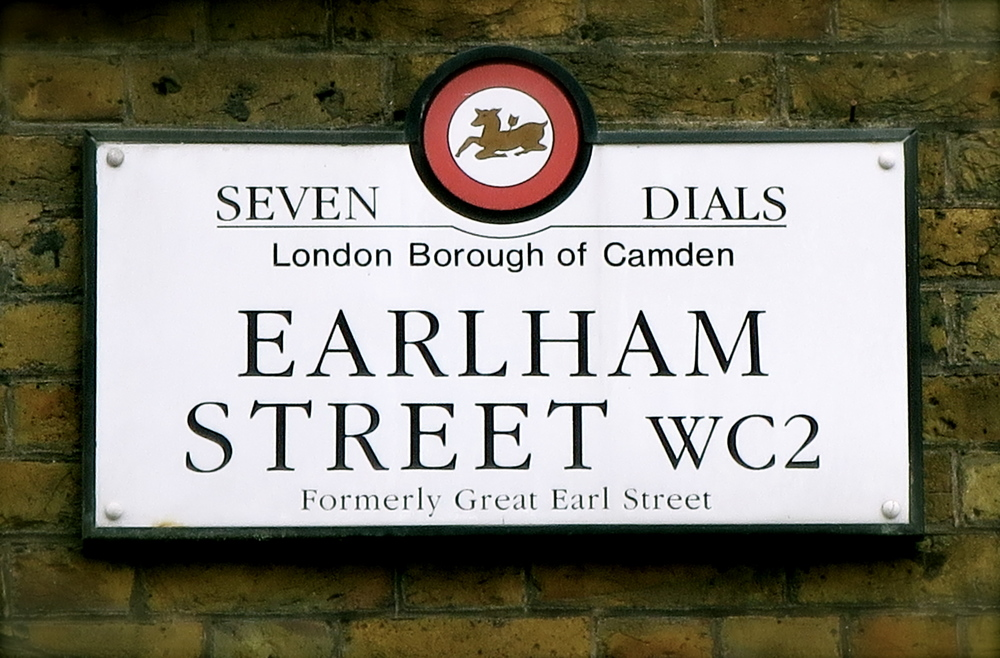 Head down to Earlham Street ...