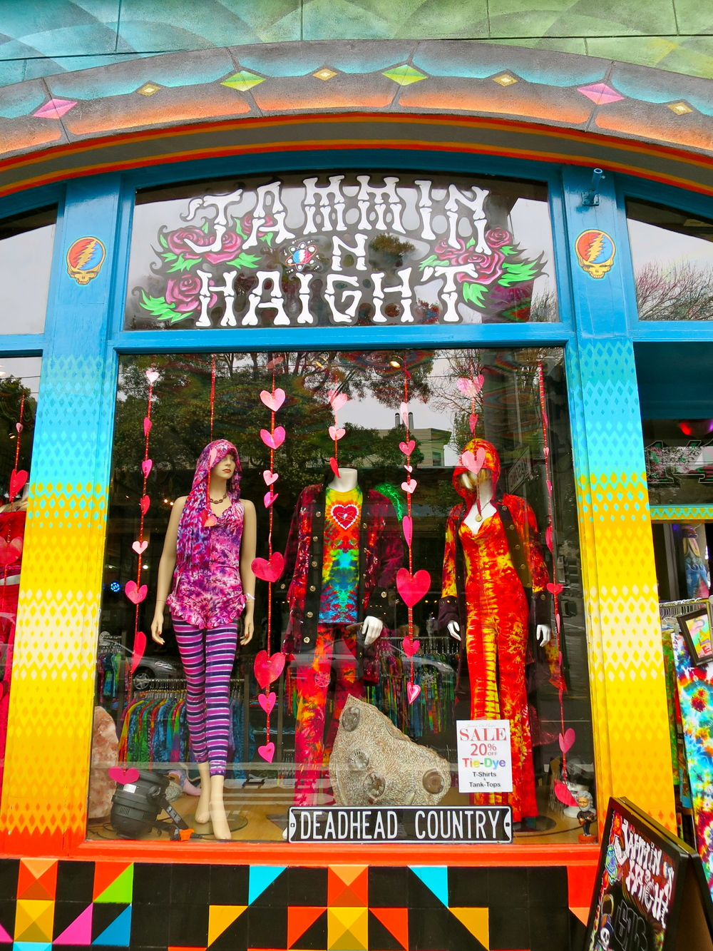 Colourful Haight and Ashbury!